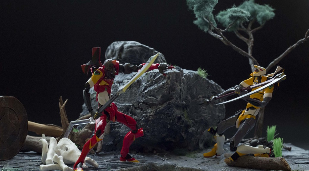 diorama with some action figures